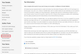 税务表格W-8BEN-E如何填写更新?