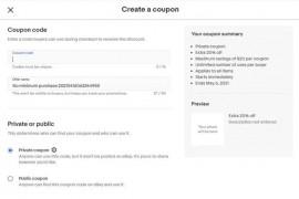 创建Ebay平台的coupon code及使用