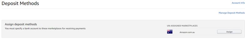 Payoneer 亚马逊收款澳元账户