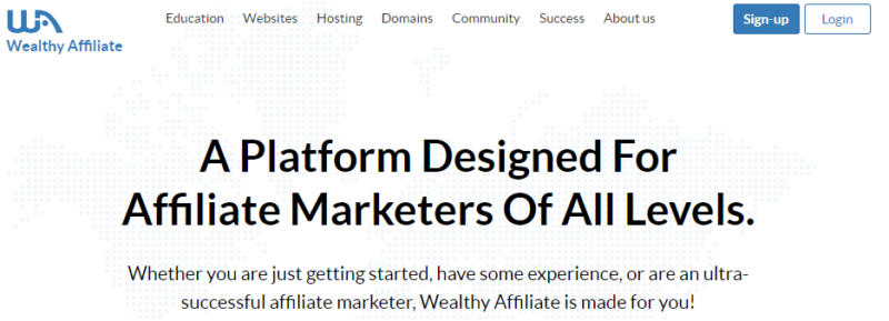 wealthy affiliate join