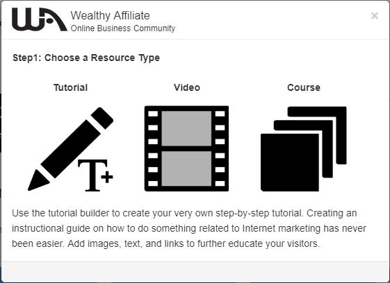 create WA training