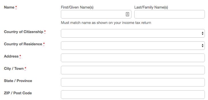 w8ben tax form