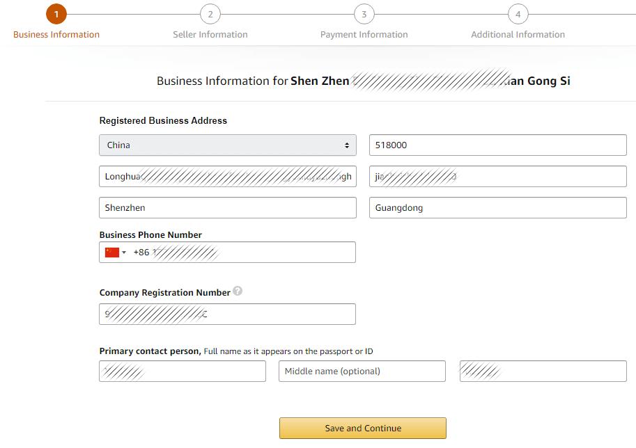amazon uk register